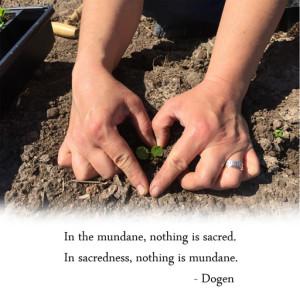 The Sacred Mundane